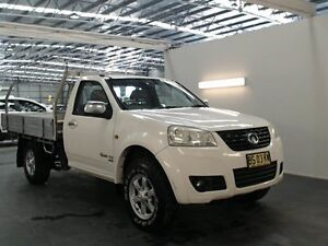 2012 Great Wall V200 K2 (4x4) White 6 Speed Manual Cab Chassis Beresfield Newcastle Area Preview
