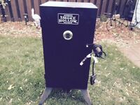Electric wood smoker