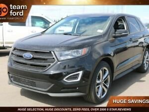 2018 Ford Edge SPORT, 400A, AWD, SYNC3, NAV, MOONROOF, 2.7L V6,