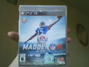 Madden 2016 playstation 3 game for sale