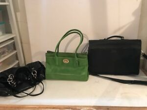 Designer Coach Purses and Briefcase - PRICES REDUCED