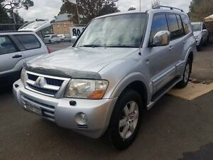 2005 Mitsubishi Pajero NP Exceed LWB (4x4) Silver 5 Speed Auto Sports Mode Wagon Campbelltown Campbelltown Area Preview