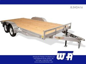 Available Soon at Wholesale Trailers! All Aluminum H&H