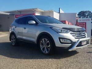 2014 Hyundai Santa Fe DM MY14 Highlander Silver 6 Speed Sports Automatic Wagon Warwick Southern Downs Preview