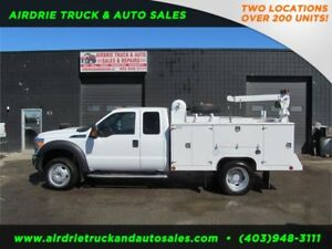2012 Ford Super Duty F-450 DRW XLT Service Body