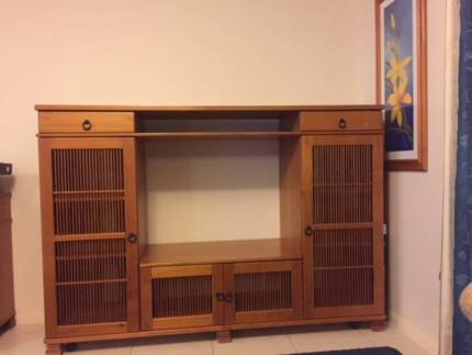 TV Cabinet and wall unit   Entertainment & TV Units   Gumtree ...