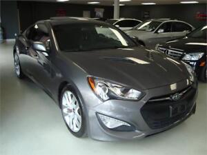 2013 Hyundai Genesis Coupe Premium. 6 Speed. Navigation.