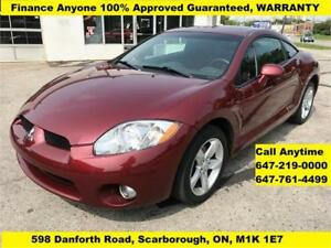 2006 Mitsubishi Eclipse GS  FINANCE 100% APPROVED GUARANTEED