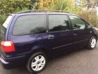 ((( 7 SEATER ))) FORD GALAXY GHIA * MOT- 27/08/18*LARGE BOOT AREA*EXCELLENT*like zafira grand scenic