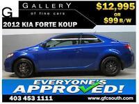2012 KIA FORTE KOUP *EVERYONE APPROVED* $0 DOWN $99/BW!