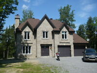 home for rent rawdon waterfront,maison bord de l'eau rawdon