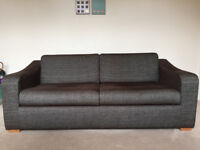 John Lewis 3 seater sofa Couch