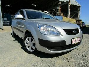 2006 Kia Rio JB Silver 5 Speed Manual Hatchback Yeerongpilly Brisbane South West Preview