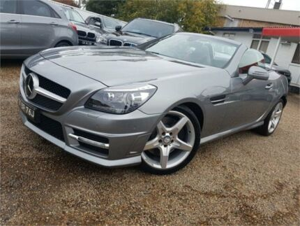 2011 Mercedes-Benz SLK350 R172 BlueEFFICIENCY 7G-Tronic + Silver Metallic 7 Speed Sports Automatic Sylvania Sutherland Area Preview