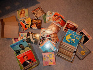 Mega deal -150 old jazz records 45rpm / Jukebox / 1960'
