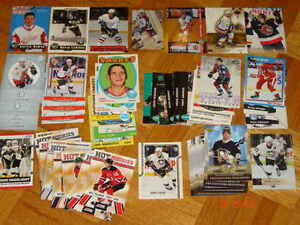 Cartes de Hockey - lots de RC, parallèles, Crosby, spécials etc.