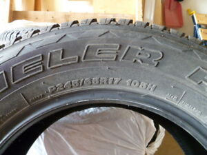 Tires 65R17 for sale