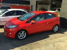 2011 Ford Fiesta WT Zetec Red 5 Speed Manual Hatchback Cardiff Lake Macquarie Area Preview