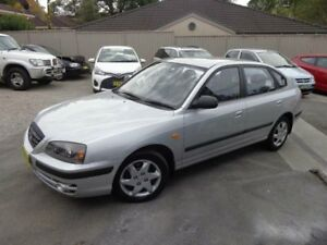 2003 Hyundai Elantra XD 2.0 HVT Silver 4 Speed Automatic Hatchback Sylvania Sutherland Area Preview