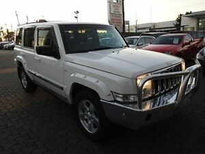 2006 Jeep Commander XH Limited White 5 Speed Automatic Wagon Croydon Burwood Area Preview