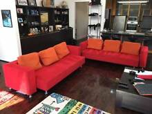 Amazing Huge red Ligne Roset couches Woollahra Eastern Suburbs Preview