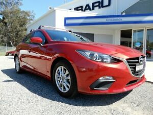 2015 Mazda 3 BM5476 Neo SKYACTIV-MT Red 6 Speed Manual Hatchback Glendale Lake Macquarie Area Preview