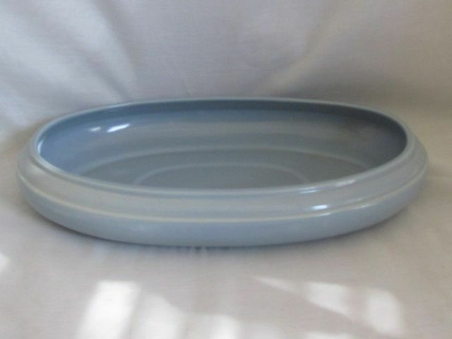 "Abingdon Pottery 542 Oval 14"" Bowl"