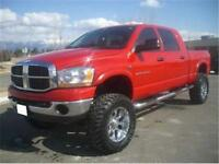 2008 DODGE RAM 3500 4X4 DIESEL LIFTED EXCELLENT!!