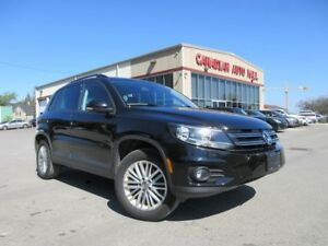 2016 Volkswagen Tiguan AWD, HTD. SEATS, CAMERA, BT, 55K!