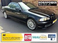 2003 BMW 3 Series 3.0 330Ci 2dr Petrol black Automatic