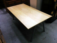Want Ikea- Galant Desk-birch color top  160x80x60
