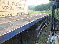 40ft Tandem Axle PSK Trailer, 12 Twist Locks, Steel Suspension, Multi Leaf Springs