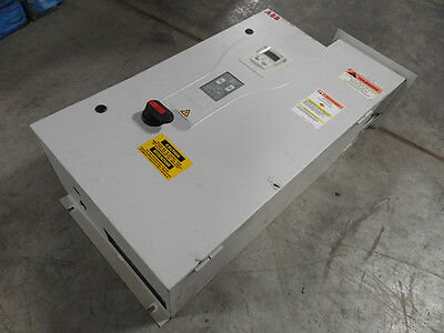 USED ABB ACH550-BC-031A-4+B055+F267 Enclosed Variable Frequency Drive 20 HP