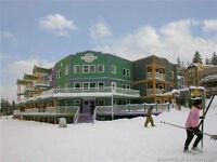 At Silver Star Mountain Resort near Vernon, BC