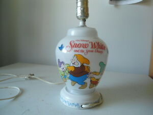 Lamp - Snow white and the seven dwarfs