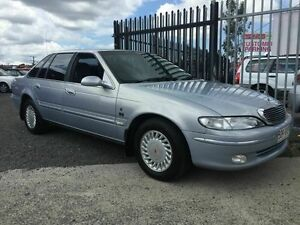 1995 Ford Fairlane NF Ghia Silver 4 Speed Automatic Sedan Underwood Logan Area Preview