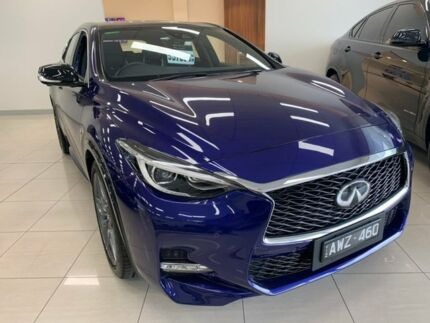 2017 Infiniti Q30 H15 Sport Premium D-CT Ink Blue 7 Speed Sports Automatic Dual Clutch Wagon Doncaster Manningham Area Preview