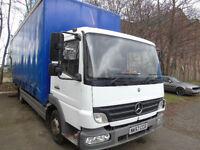 Mercedes-Benz Atego 815 bluetec curtain side 2008 white 7.5 ton