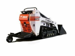 Mini bobcat MT52 rental Weekend Special Landscaping Armor Stone
