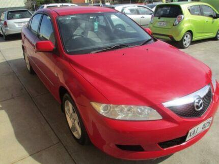 2003 Mazda 6 GG Classic Red 5 Speed Manual Hatchback Salisbury Plain Salisbury Area Preview