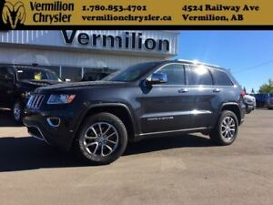 2014 Jeep Grand Cherokee Limited, Heated Leather, Sunroof, Back-