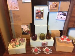PARTYLITE CANDLES + RETIRED HOLDERS (  BNIB )