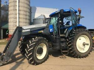 Tracteur New Holland 7030