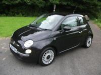 FIAT 500 1.2 LOUNGE 3d 69 BHP (black) 2012