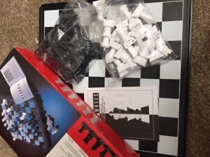 Chess Board New In box. ONLY OPENED ONCE