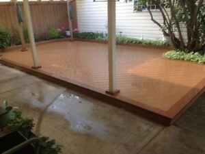 Water tight DUXXBAK COMPOSITE DECKING