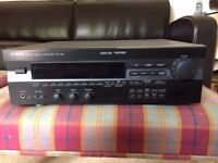 Yamaha Natural Sound AV Receiver (RX-V395) Cinema DSP Dolby Surround Pro-Logic with Remote Control