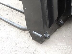 "HLA 72"" Manure Fork with Utility Grapple for Skid Steers"