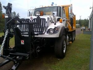 2017 International 7600 6x4, New Plow Truck