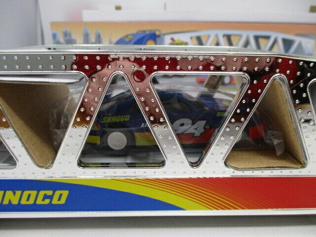 Sunoco 1999 Car Carrier w/ Action Friction Race Car